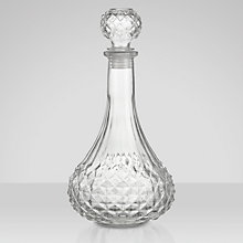 Buy Round Cut Glass Decorative Decanter Online at johnlewis.com