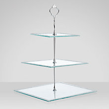 Buy Square Diamante Cake Stand Online at johnlewis.com