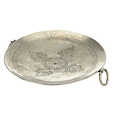 Buy John Lewis Round Punched Candle Plate Online at johnlewis.com