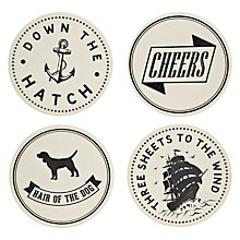 Buy Simon's Ceramic Coasters, Set of 4 Online at johnlewis.com