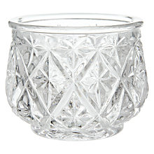 Buy Glass Tealight Holder Online at johnlewis.com