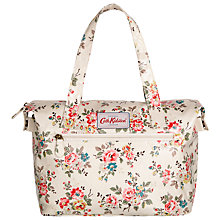 Buy Cath Kidston Kingswood Rose Small Zipped Bag, Ivory Online at johnlewis.com