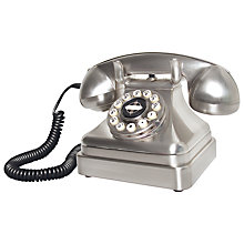 Buy Wild and Wolf Lobby Chrome Telephone Online at johnlewis.com