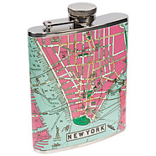 Buy Metropolitan New York Hip Flask, 6oz Online at johnlewis.com