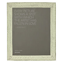 "Buy John Lewis Photo Frame, Green, 8 x 10"" (20 x 25cm) Online at johnlewis.com"
