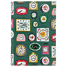 Buy Cath Kidston Mini Clocks Passport Holder, Green Online at johnlewis.com
