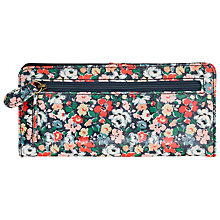 Buy Cath Kidston Mews Ditsy Card Wallet, Blue Online at johnlewis.com