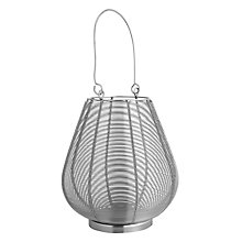 Buy John Lewis Wire Lantern, H19cm Online at johnlewis.com