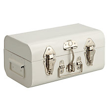 Buy John Lewis Croft Collection Trunk, Small, Marshmallow Online at johnlewis.com