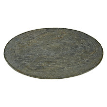 Buy John Lewis Croft Collection Round Slate Candleplate Online at johnlewis.com