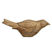 Buy Wooden Robin Ornament Online at johnlewis.com