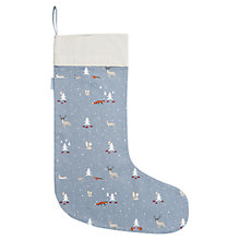 Buy Sophie Allport Woodland Print Christmas Stocking Online at johnlewis.com