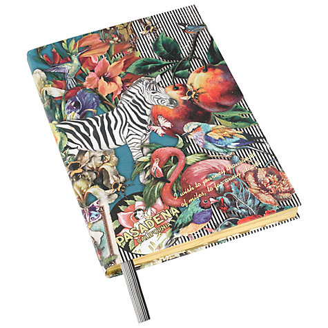 Buy Wanderlust Zebra A5 Notebook Online at johnlewis.com
