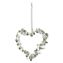 Buy Hanging Wire Heart with Bells Online at johnlewis.com