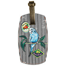 Buy Wanderlust Zebra Luggage Tag Online at johnlewis.com