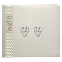 Buy Deva Bead Heart Photo Album, Medium Online at johnlewis.com