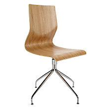 Buy John Lewis Grace Office Chair, Oak Online at johnlewis.com