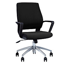 Buy John Lewis Ervin Office Chair, Black Online at johnlewis.com