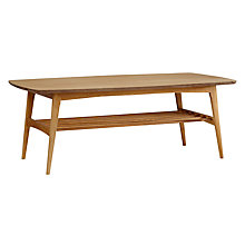 Buy John Lewis Ettie Coffee Table, Oak Online at johnlewis.com