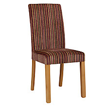 Buy John Lewis Orly Upholstered 6 Chairs, Raspberry Matisse Stripe Online at johnlewis.com