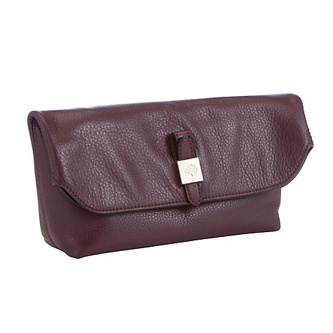 Buy Mulberry Leather Tessie Clutch Bag Online at johnlewis.com