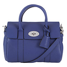 Buy Mulberry Small Bayswater Leather Satchel Bag Online at johnlewis.com