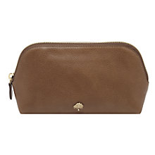 Buy Mulberry Leather Make-up Case Online at johnlewis.com