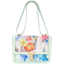 Buy Ted Baker Freiya Across Body Handbag, Pale Green Online at johnlewis.com