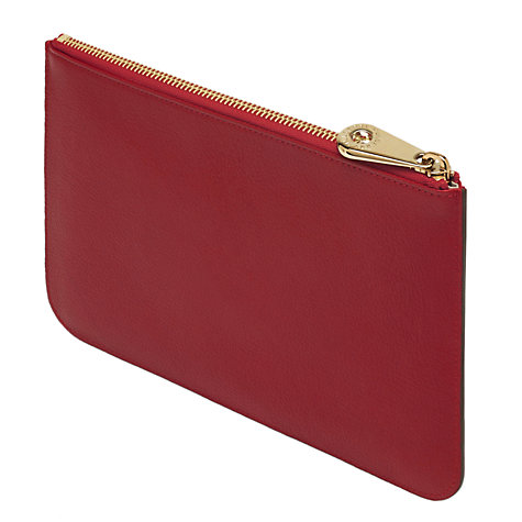 Buy Mulberry Tree Pouch, Poppy Red Online at johnlewis.com