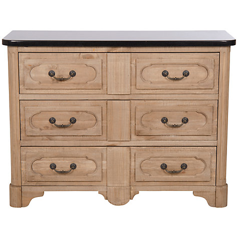 Buy Halo Harvard 3 Drawer Sideboard with Granite Top Online at johnlewis.com