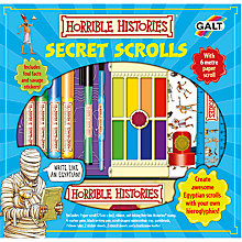 Buy Galt Horrible Histories Secret Scrolls Online at johnlewis.com