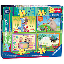 Buy Ravensburger In the Night Garden My First Puzzles, Pack of 4 Online at johnlewis.com
