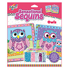Buy Galt Sensational Sequins Owls Online at johnlewis.com
