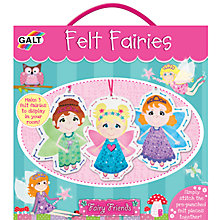 Buy Galt Fairy Friends Felt Fairies Set Online at johnlewis.com