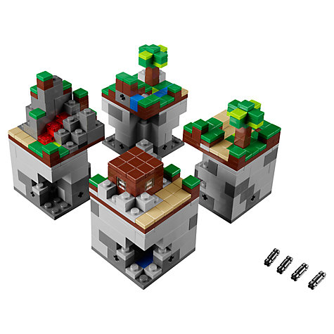 Buy LEGO Minecraft The Forest Microworld Online at johnlewis.com