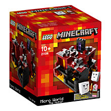 Buy LEGO Minecraft The Nether Microworld Online at johnlewis.com