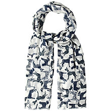 Buy White Stuff Woof Print Scarf, Off White Online at johnlewis.com