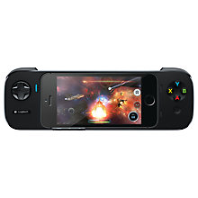 Buy Logitech PowerShell iPhone and iPod touch Gaming Controller & Battery, Black Online at johnlewis.com