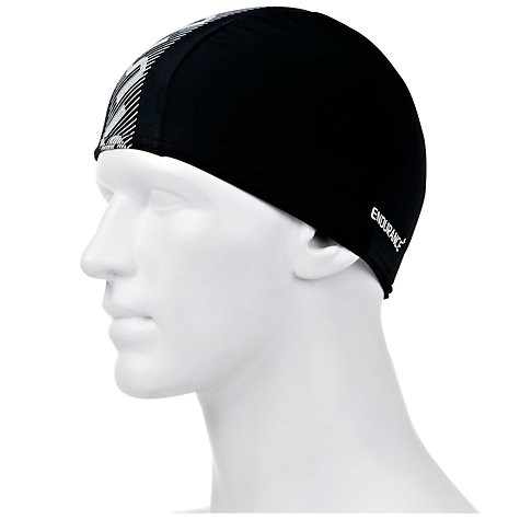 Buy Speedo Monogram Endurance+ Cap, Black/White Online at johnlewis.com