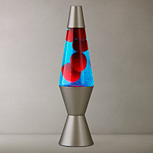 Buy Lava Lamp, Blue/ Red Online at johnlewis.com