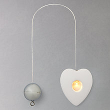 Buy Sirius Olina Heart LED Indoor Hanging Decoration Online at johnlewis.com