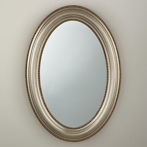 Buy john lewis bead oval mirror champagne h85 x w60cm for Oval mirror canada
