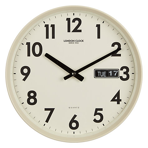 buy london clock day date wall clock online at