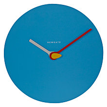 Buy Newgate Glow Wall Clock, Dia.32cm, Blue Online at johnlewis.com