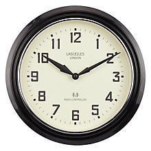 Buy Lascelles Retro Clock, 30cm Online at johnlewis.com