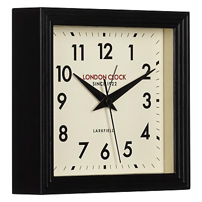 Image of London Clock Company 1922 Square Station Mantel Clock