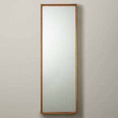 John Lewis Scandi Oak Mirror, 135 x 45cm, Natural