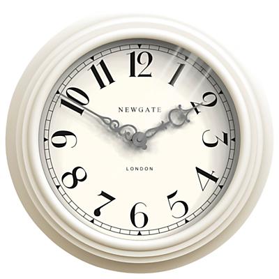 Image of Newgate Dormitory Clock, White