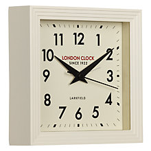 Buy London Clock 1922 Square Station Mantel Clock Online at johnlewis.com