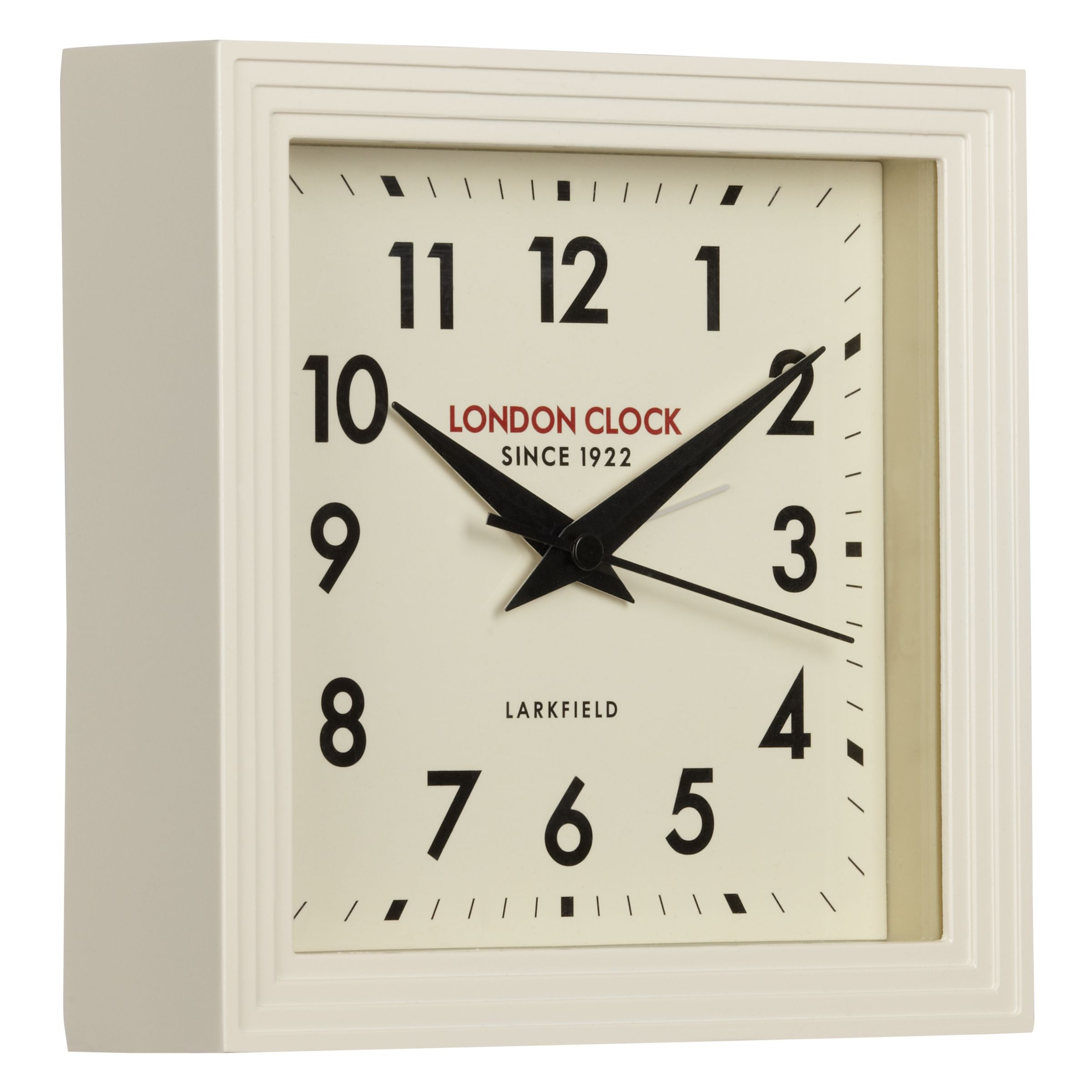 London Clock Company London Clock Company 1922 Square Station Mantel Clock